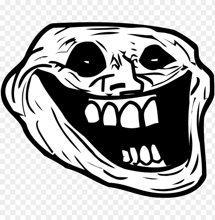 Creepy Troll Face Png Image With Transparent Background Toppng