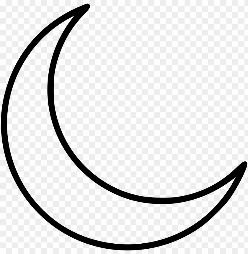 free PNG crescent moon png - white crescent moon PNG image with transparent background PNG images transparent