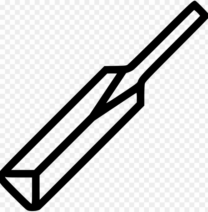 free PNG cricket bat sports - black and white cricket bat clipart PNG image with transparent background PNG images transparent