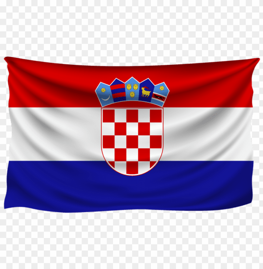 free PNG Download croatia wrinkled flag clipart png photo   PNG images transparent