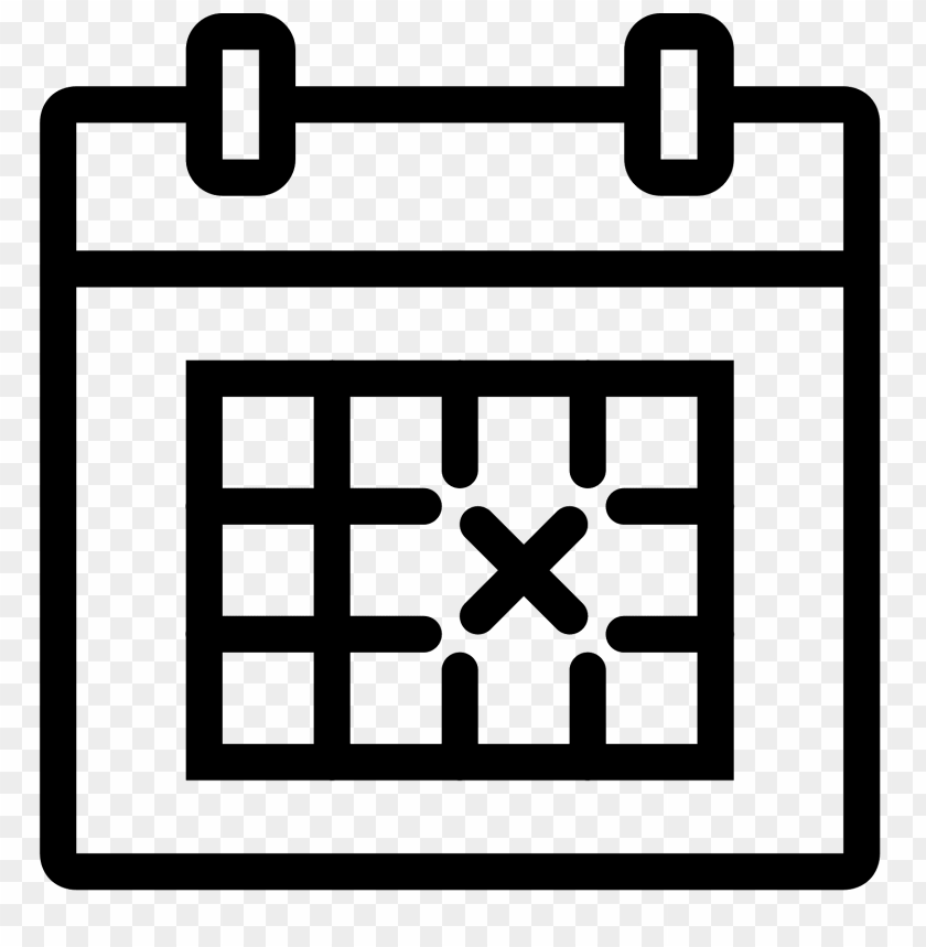 free PNG crossed out date on calendar PNG image with transparent background PNG images transparent