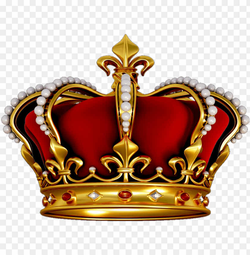 free PNG crown king queen kingcrown - red crown ki PNG image with transparent background PNG images transparent