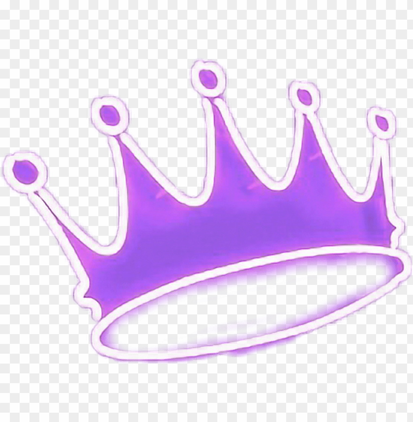 Crown Neon Purple King Queen Sexy Re Prince Crown