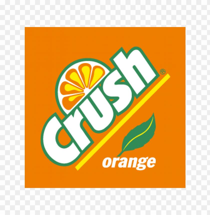 free PNG crush orange vector logo PNG images transparent