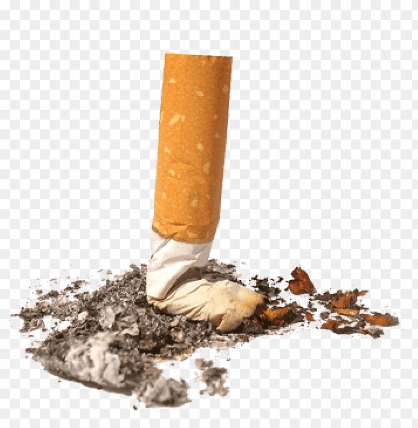 free PNG Download Crushed Cigarette png images background PNG images transparent