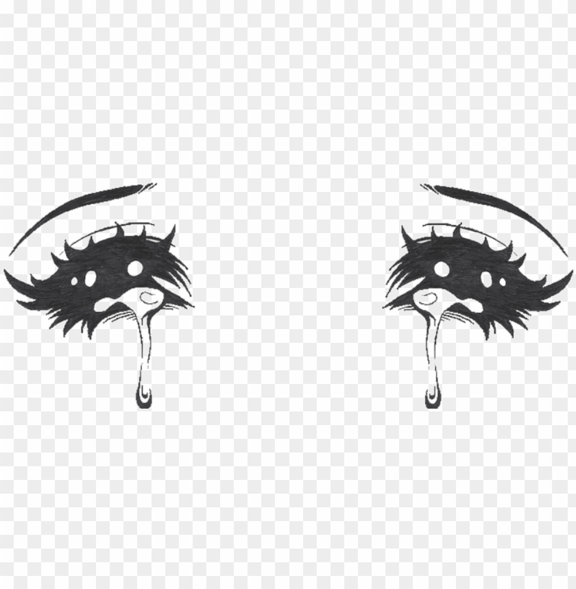 free PNG crying anime eyes PNG image with transparent background PNG images transparent
