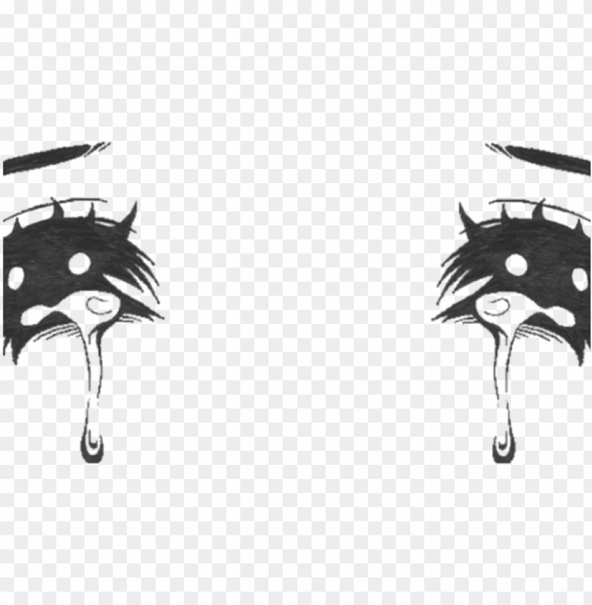 free PNG crying eyes - sad anime eyes PNG image with transparent background PNG images transparent