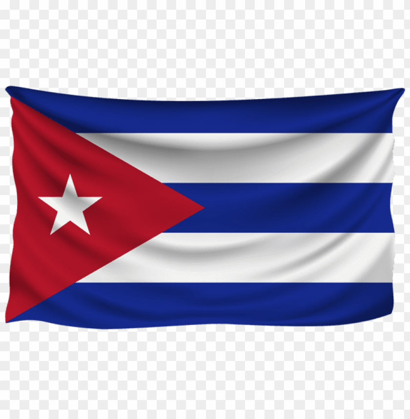 free PNG Download cuba wrinkled flag clipart png photo   PNG images transparent