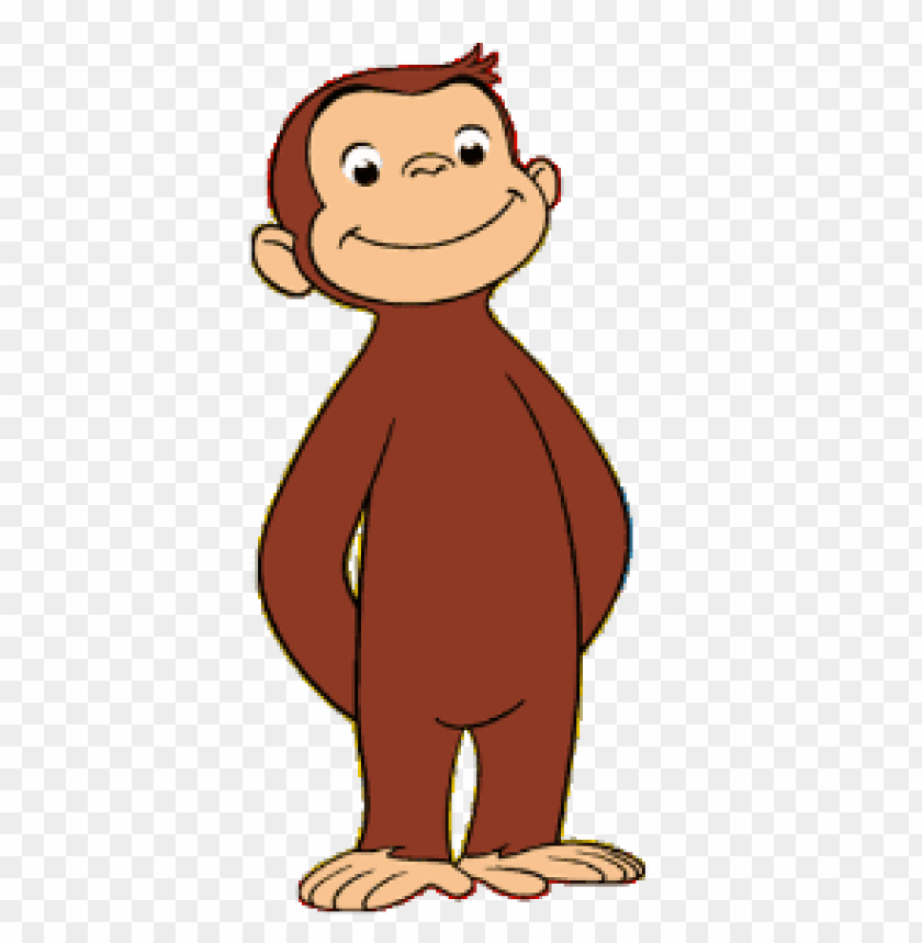 free PNG Download curious george posing clipart png photo   PNG images transparent