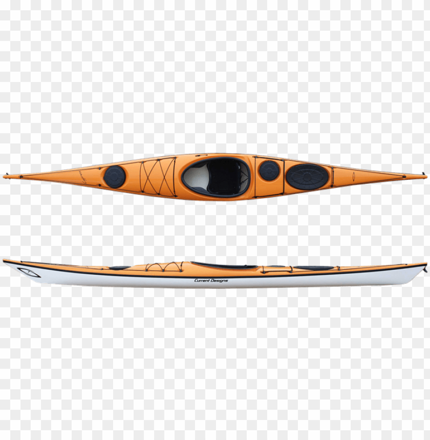 current designs tangerine kayak PNG image with transparent background@toppng.com