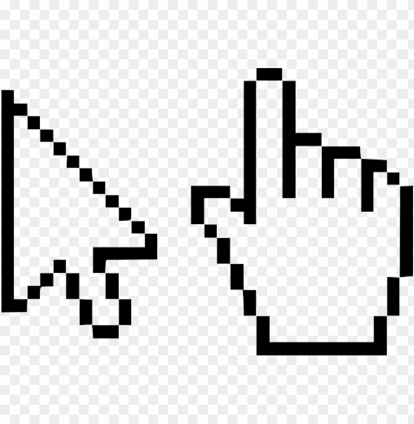 free PNG cursor hand design mouse web sticker - transparent mouse pointer PNG image with transparent background PNG images transparent