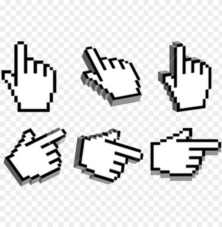 free PNG cursor hand png pic - hand cursor PNG image with transparent background PNG images transparent