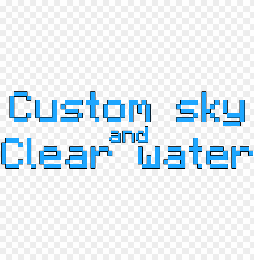 free PNG custom sky and clear water - minecraft clear water texture pack 1.9 4 PNG image with transparent background PNG images transparent
