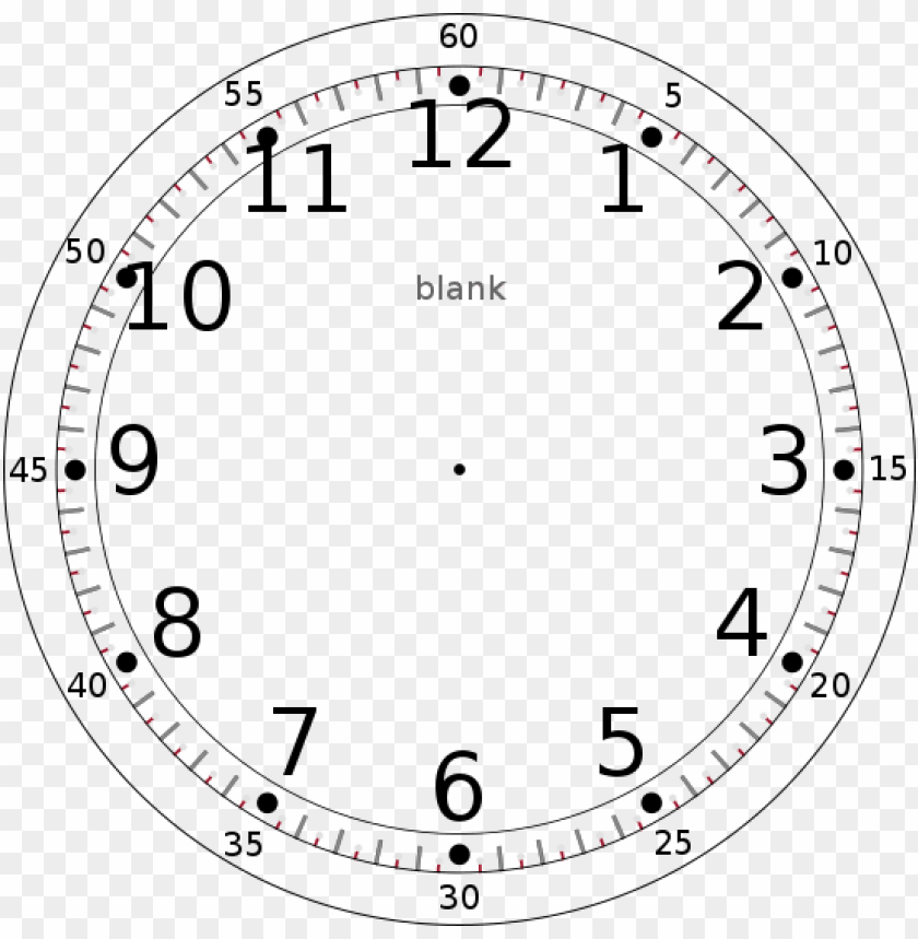 free PNG custom watch clock face dial template base - clock face PNG image with transparent background PNG images transparent