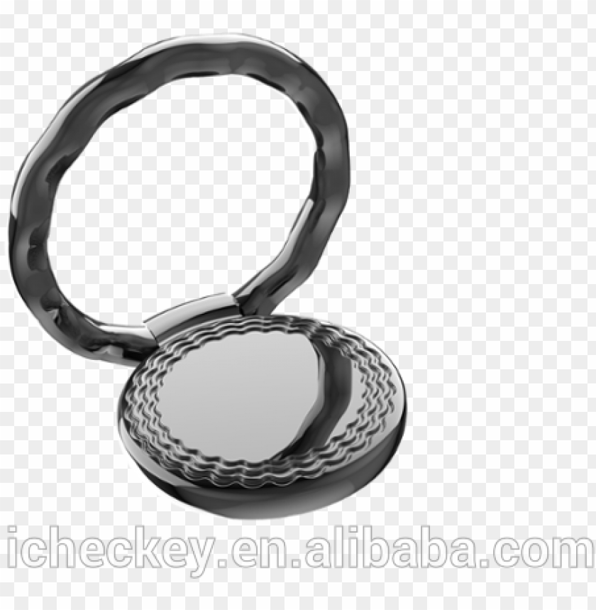 free PNG customised metal finger ring phone holder, patent design - mobile phone PNG image with transparent background PNG images transparent