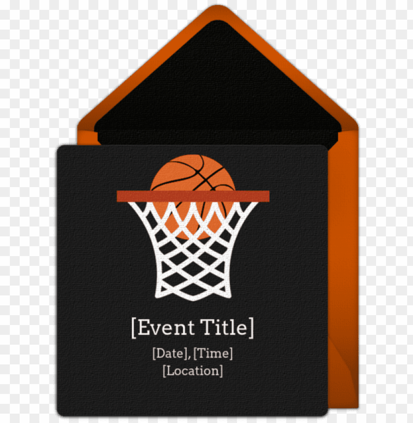 free PNG customizable, free basketball net online invitations - basketball hoop king duvet PNG image with transparent background PNG images transparent