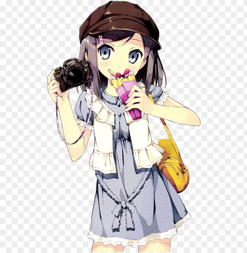 Cute Anime Girl Gif Png Image With Transparent Background Toppng