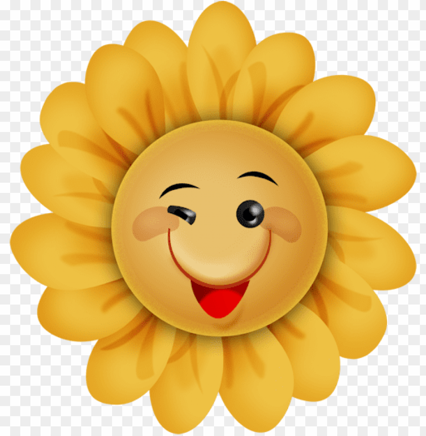 free PNG cute cartoon flowers with faces PNG image with transparent background PNG images transparent