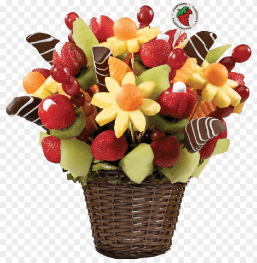 free PNG cute christmas gift basket - fruit bouquet PNG image with transparent background PNG images transparent