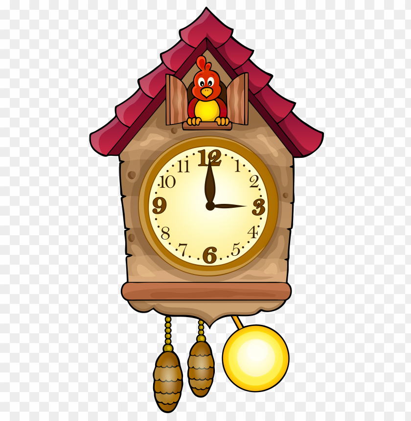 Download Cute Cuckoo Clock Clipart Png Photo Toppng