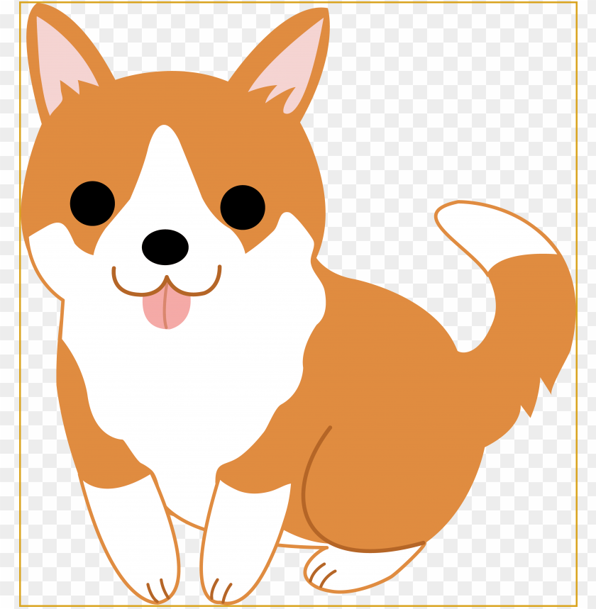 Cute Dog Clipart Clipart Panda Free Clipart Images Dog Clipart Cute Png Image With Transparent Background Toppng