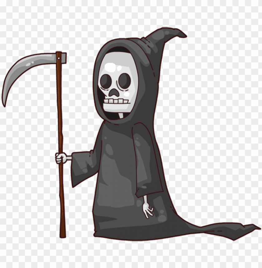 free PNG cute grim reaper cartoo PNG image with transparent background PNG images transparent