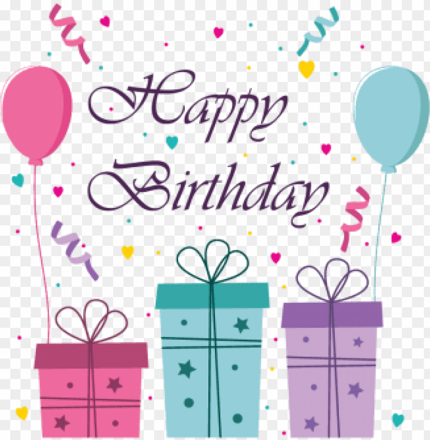 free PNG cute happy birthday greeting card and banner illustration, - birthday party greeting card PNG image with transparent background PNG images transparent