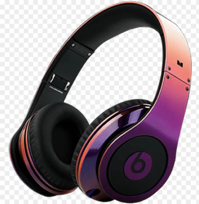 Cute Headphones Beats Headphones Monster Headphones Black And Purple Beats Png Image With Transparent Background Toppng