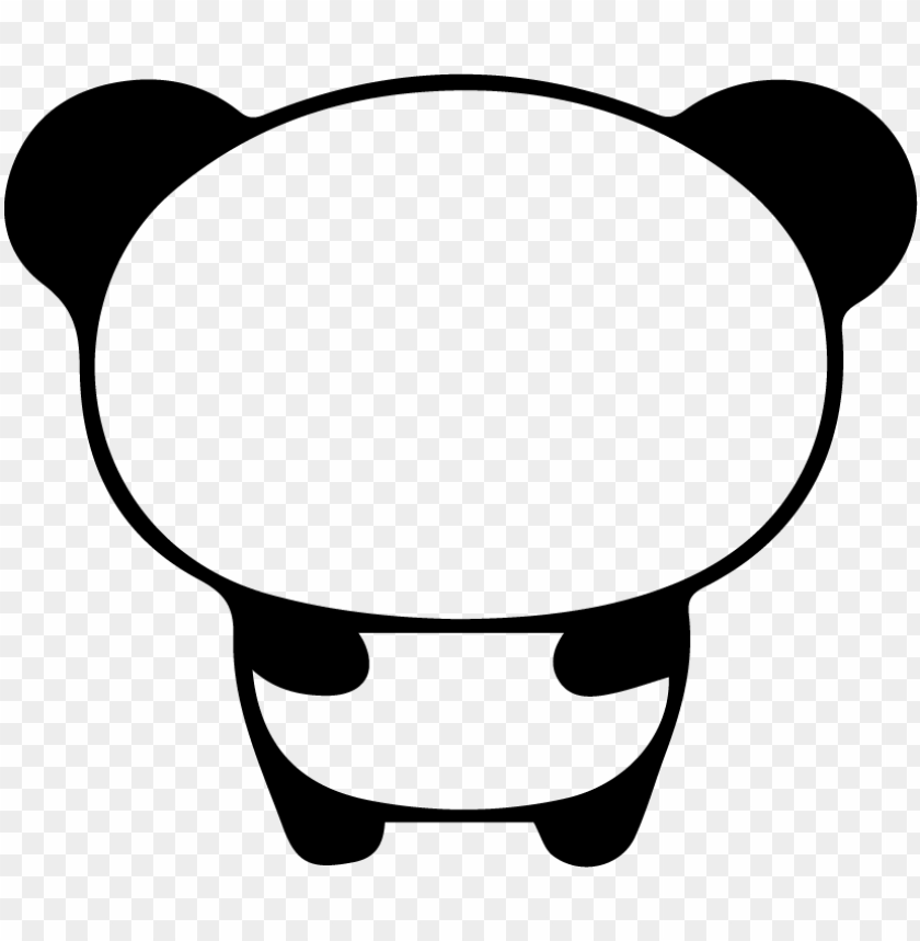 free PNG cute panda drawing easy - draw easy cute pandas PNG image with transparent background PNG images transparent