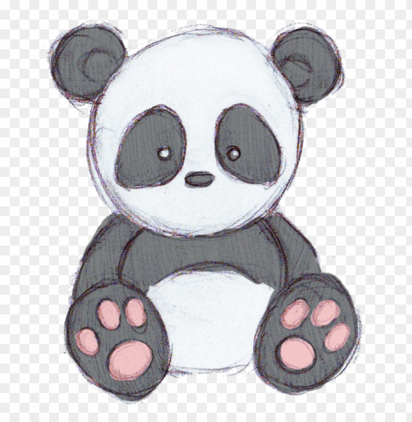 Cute Panda Drawing Tumblr Why Are You Reporting This Drawings Of Cute Cartoons Png Image With Transparent Background Toppng