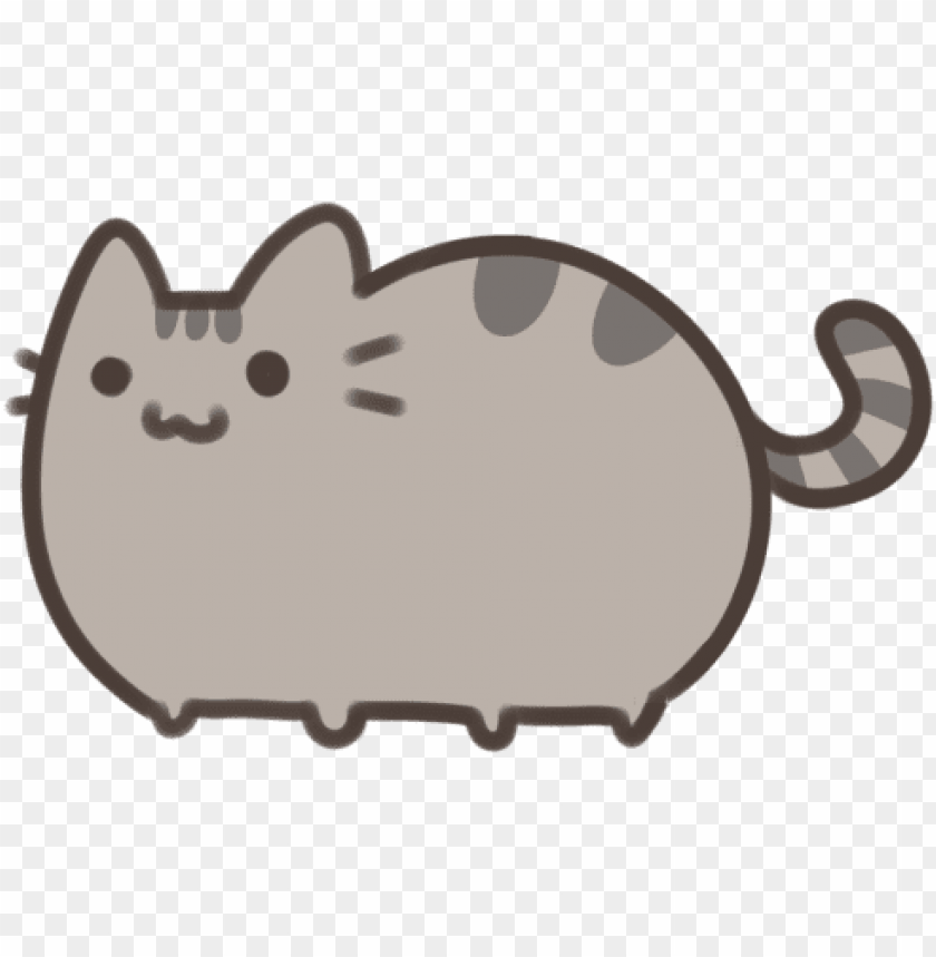 Cute Pusheen Cat Drawings Png Image With Transparent Background Toppng