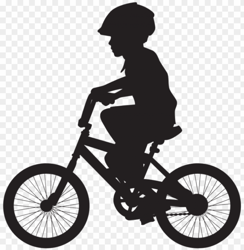 free PNG cycling boy silhouette png - Free PNG Images PNG images transparent