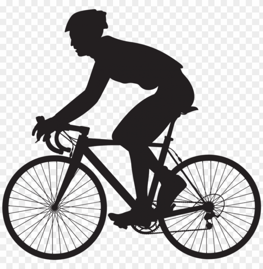 free PNG cyclist silhouette png - Free PNG Images PNG images transparent