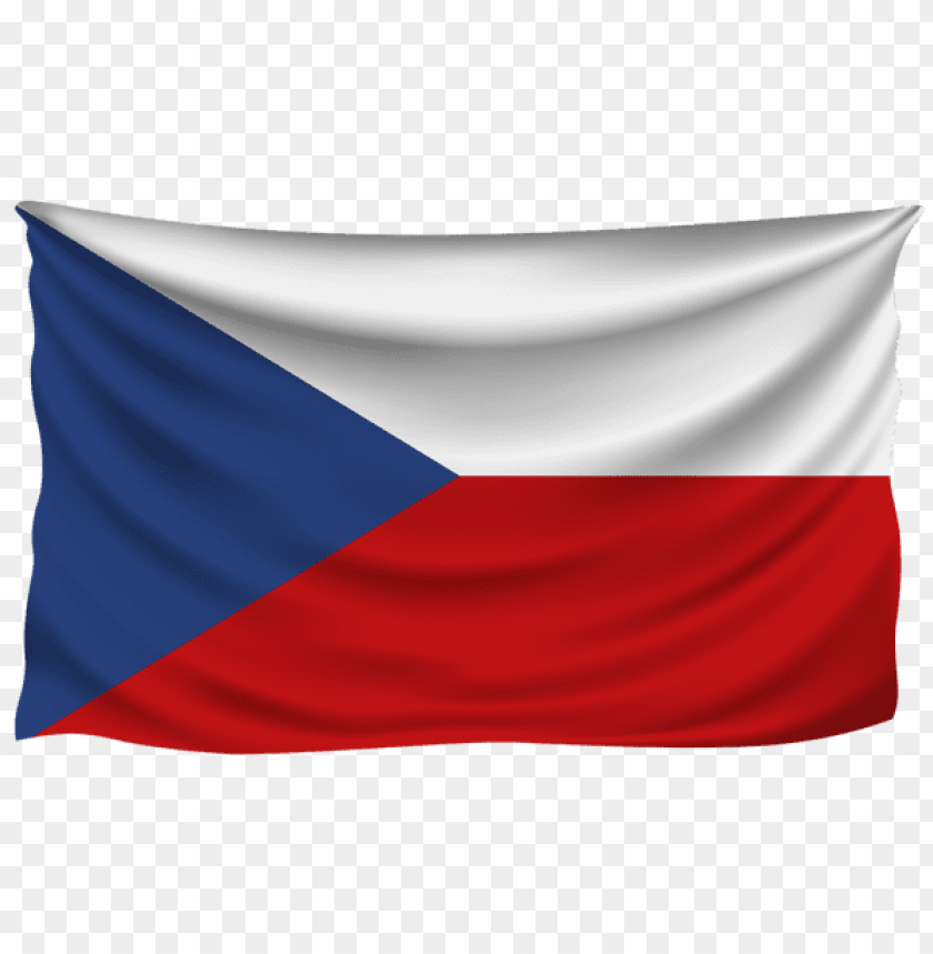 free PNG Download czech republic wrinkled flag clipart png photo   PNG images transparent