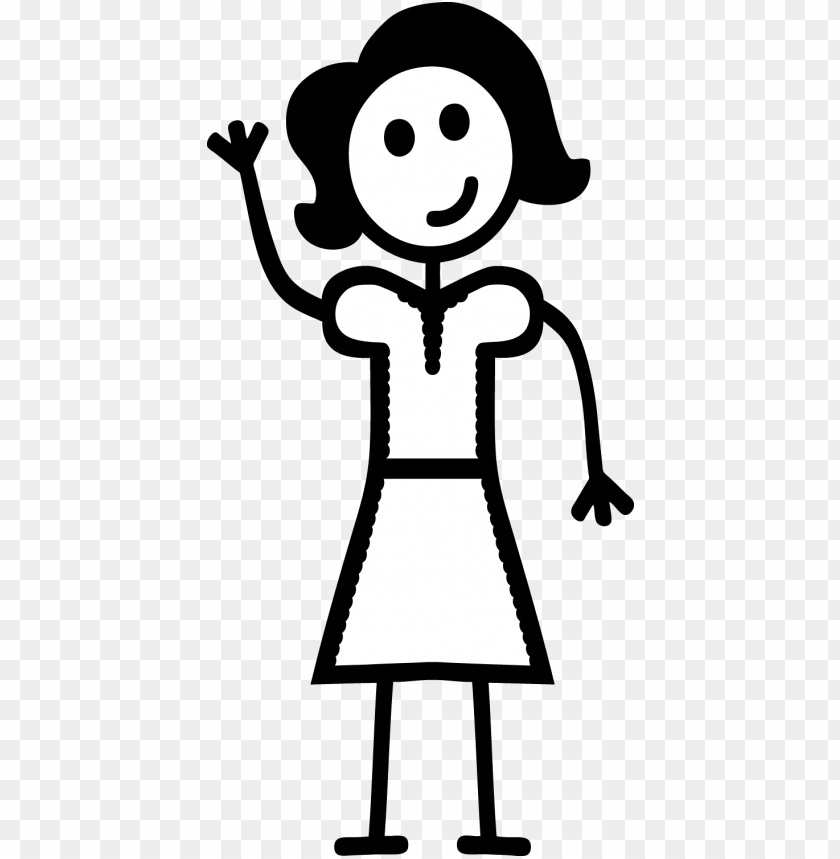 free PNG dad stick figure png clip art free stock - woman stick figure PNG image with transparent background PNG images transparent
