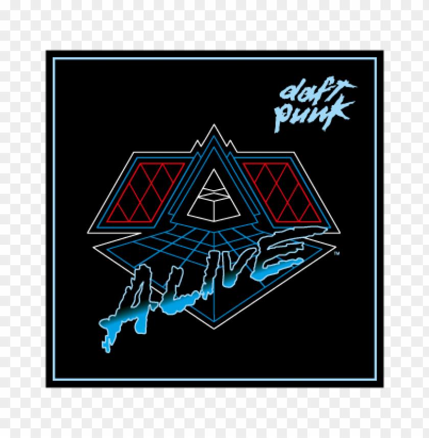 free PNG daft punk alive 2007 vector logo PNG images transparent