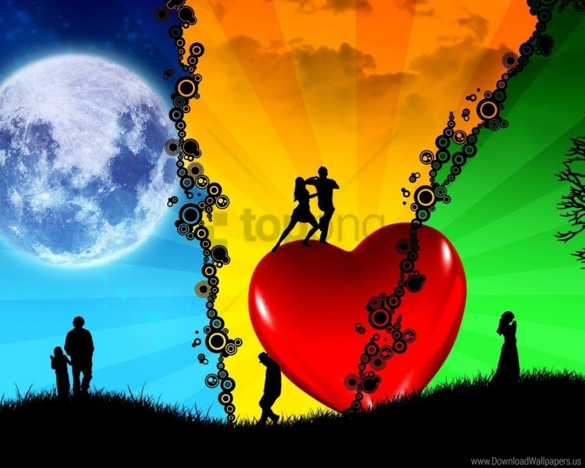 free PNG dance, heart, love, passion, peace wallpaper background best stock photos PNG images transparent