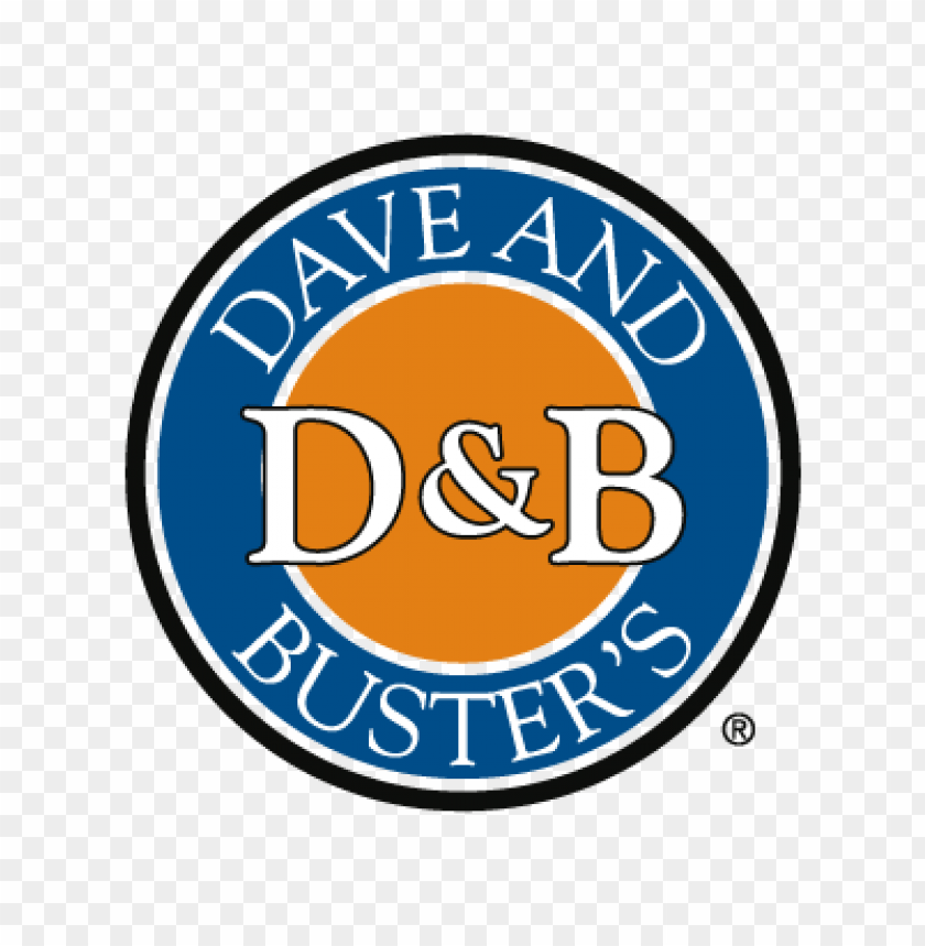 free PNG dave and buster's vector logo PNG images transparent