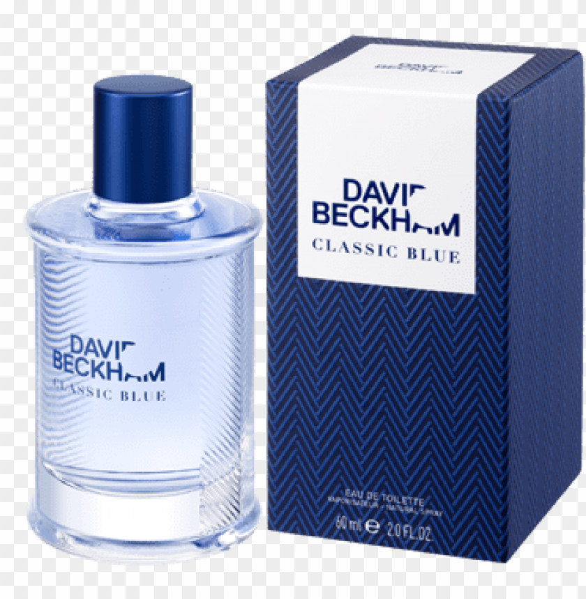free PNG david beckham classic blue for men {new perfume} {men's - david beckham classic blue perfume PNG image with transparent background PNG images transparent