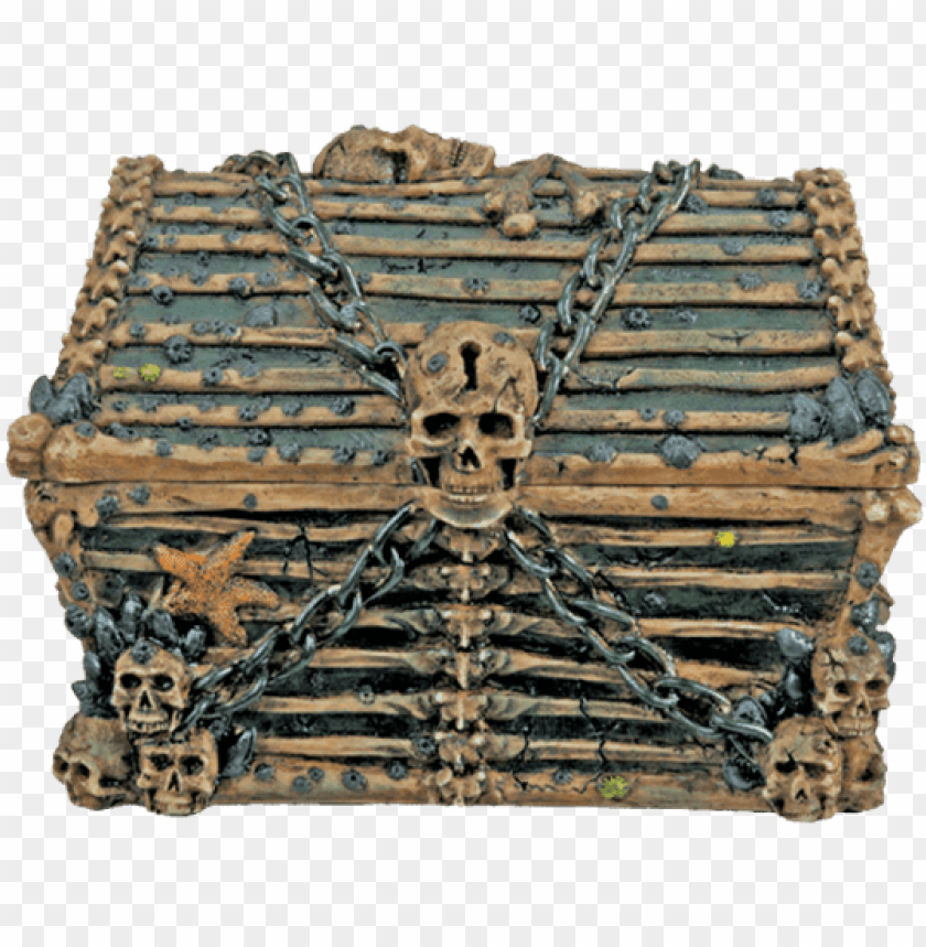 free PNG davy jones chest - davy jones chest - collectible pirate decoration container PNG image with transparent background PNG images transparent