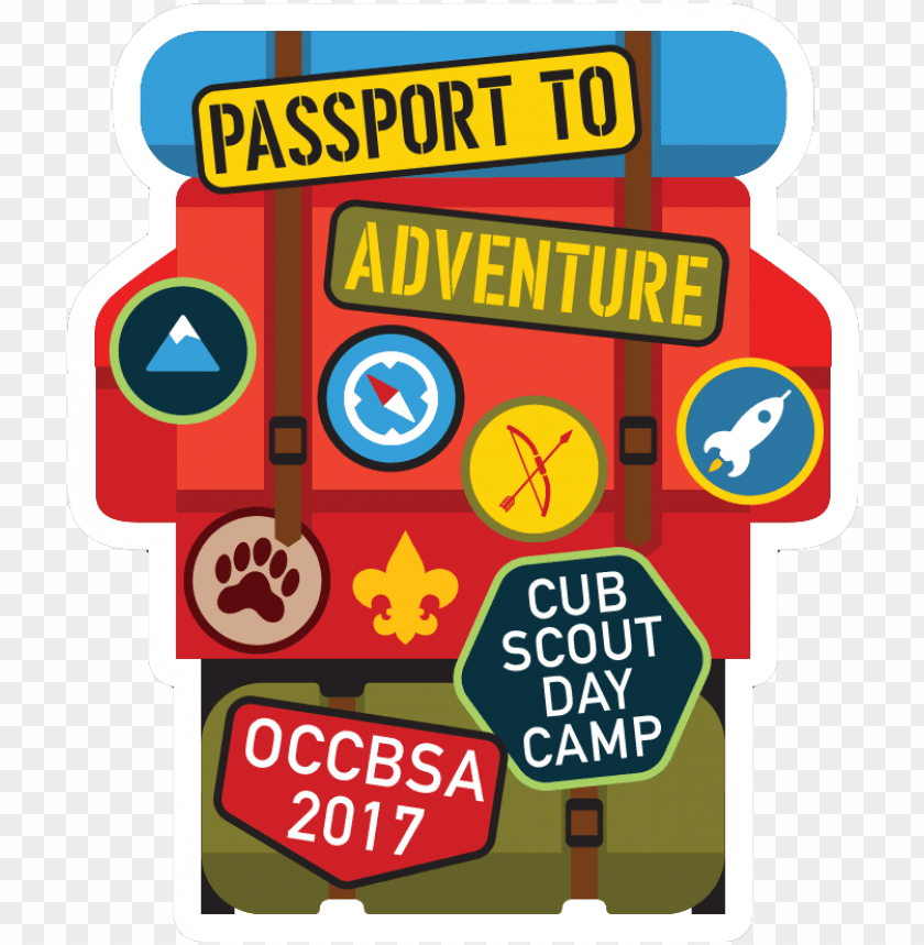 free PNG day camp 2017 calender - passport to adventure cub scout day cam PNG image with transparent background PNG images transparent