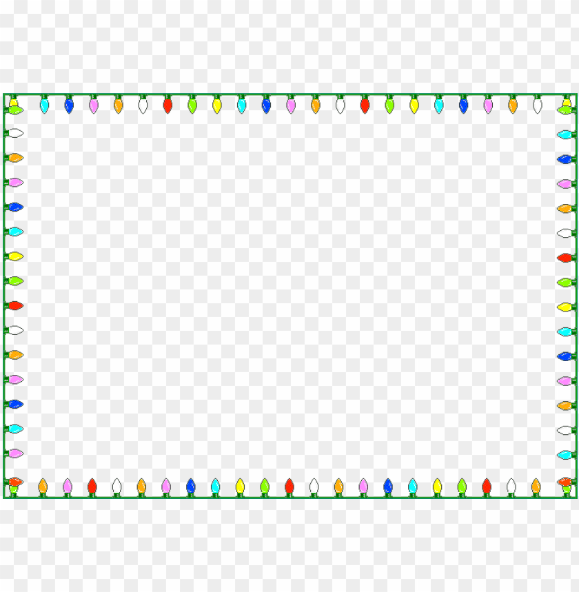 free PNG dazzling frame window border - christmas lights transparent background PNG image with transparent background PNG images transparent