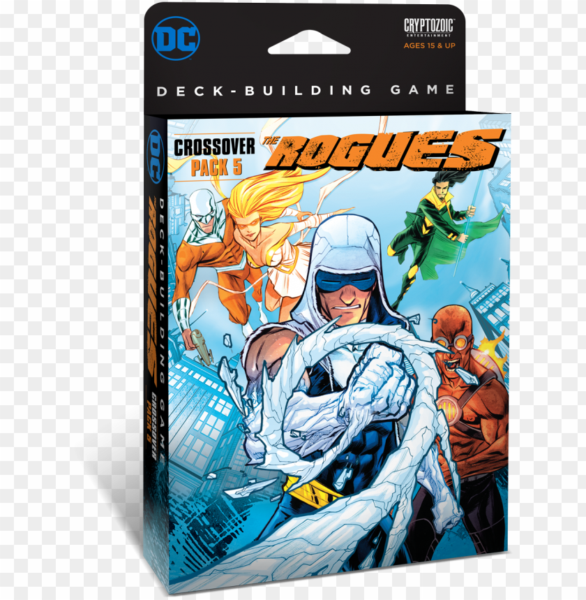 free PNG dc deck-building game crossover pack - dc comics deck-building game: crossover pack 5 - the PNG image with transparent background PNG images transparent