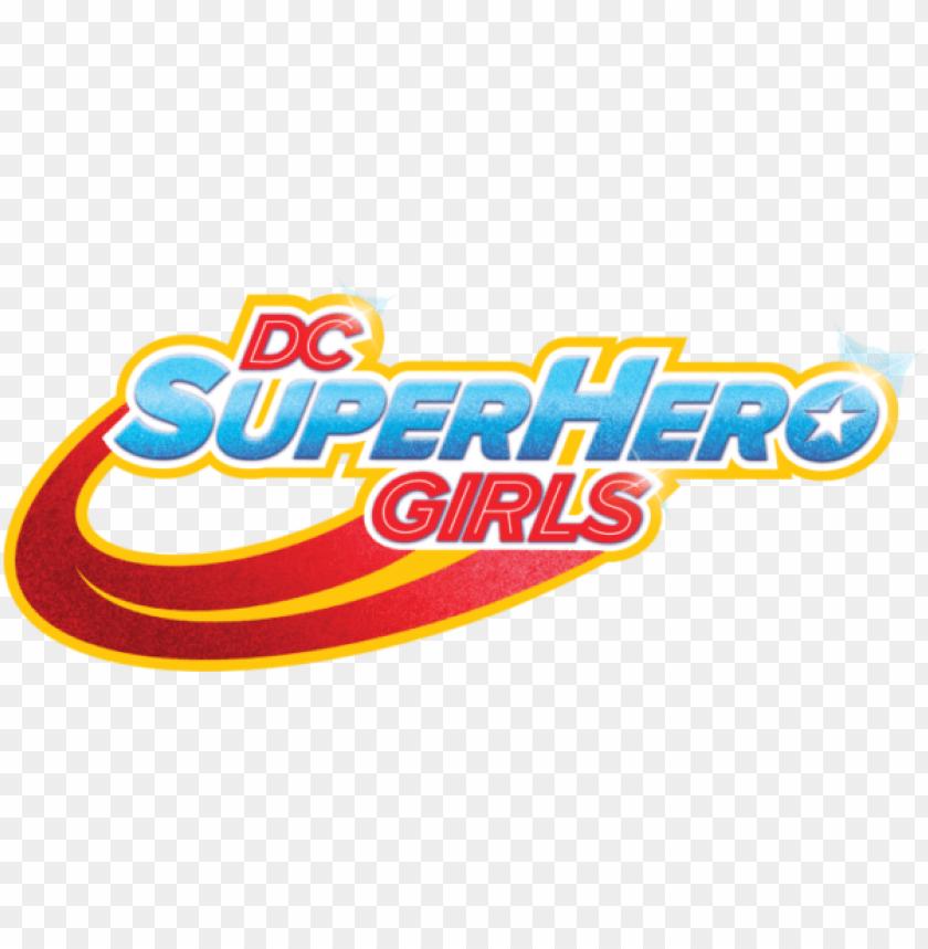 free PNG dc super hero girls logo PNG image with transparent background PNG images transparent