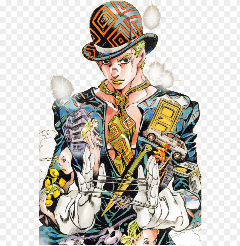 free PNG deadman kira - yoshikage kira dead man's questions PNG image with transparent background PNG images transparent