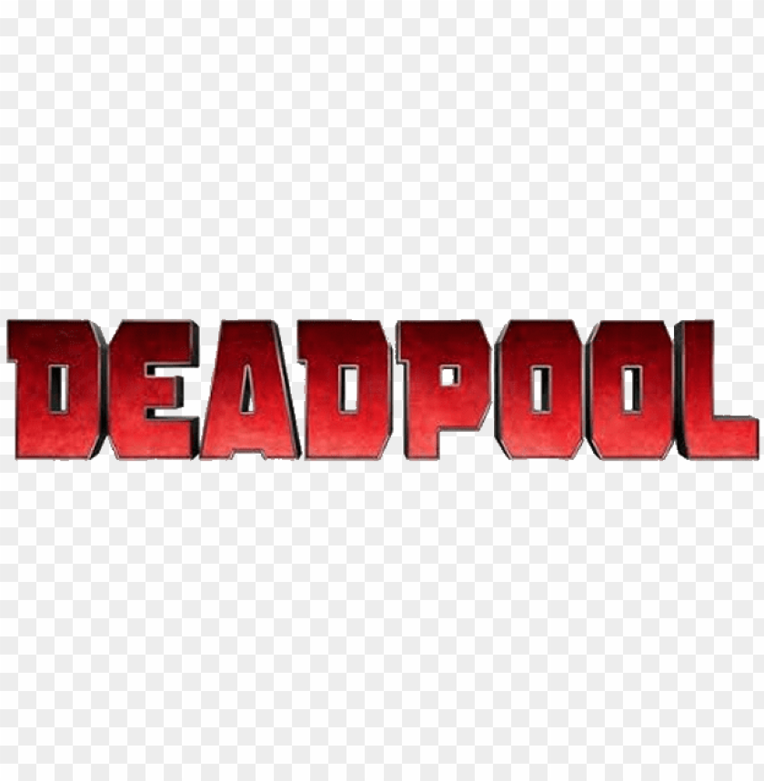 Deadpool Movie Logo Png Image With Transparent Background Toppng