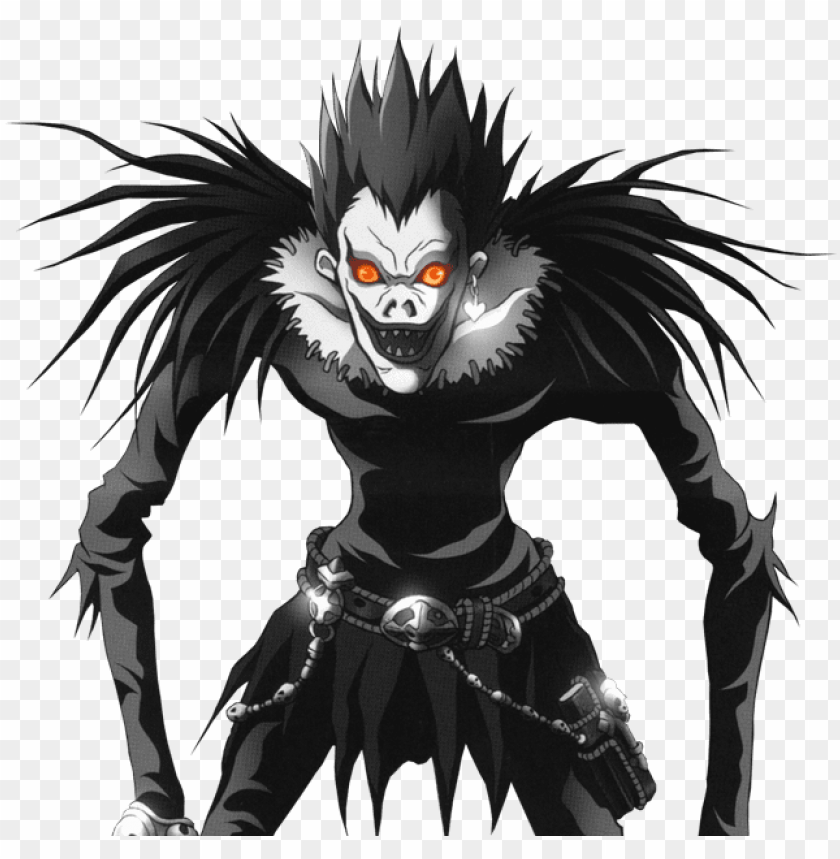 free PNG death note l logo png download - death note ryuk reference PNG image with transparent background PNG images transparent