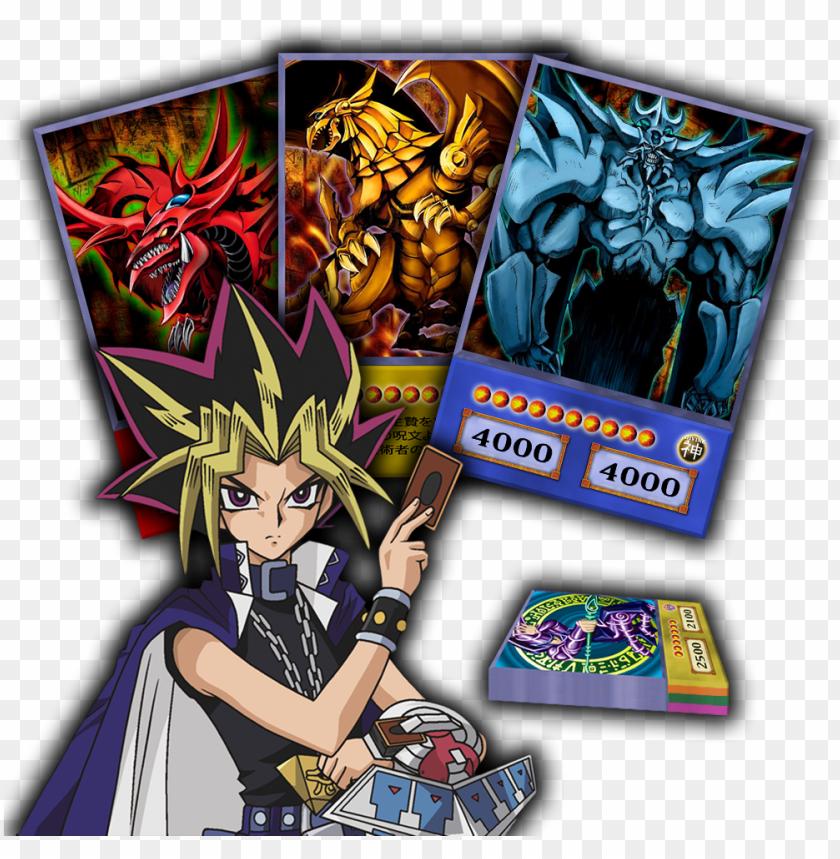 free PNG deck yami yugi orica versão animê - yugi oh anime deck PNG image with transparent background PNG images transparent
