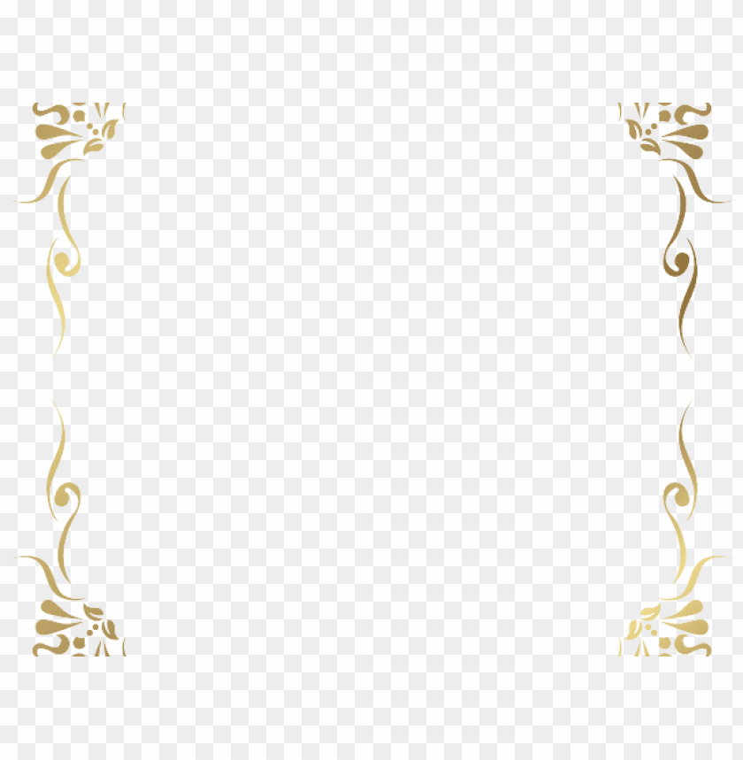 Gold Frame Border Clipart Image   Gallery Yopriceville - High-Quality  Images and Transparent PNG Free Clipart