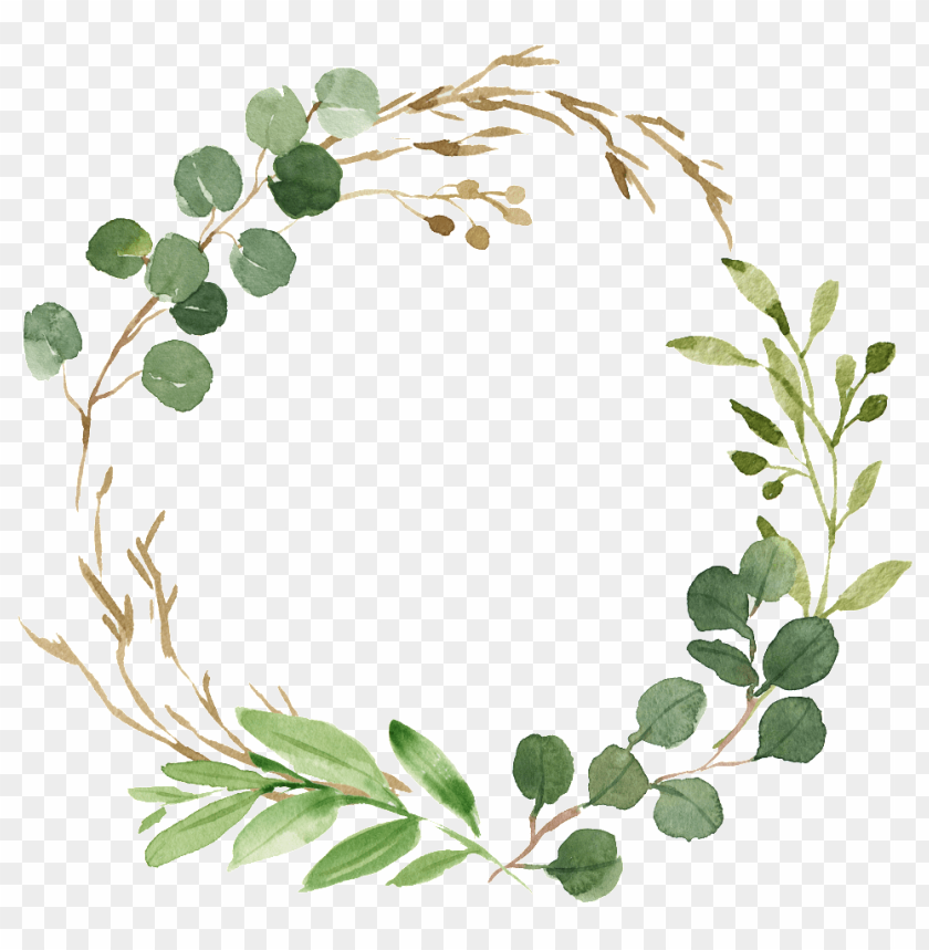 free PNG decorative elements about painted fresh,round border,fresh - watch me grow printables PNG image with transparent background PNG images transparent